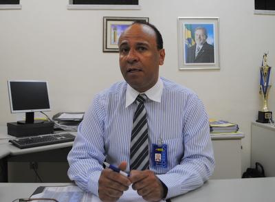 Nilton Guedes, gerente regional dos Correios