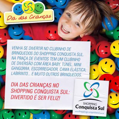 Mês das Crianças - Shopping C. Sul - Setembro 2013