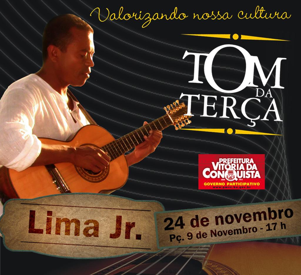 CARTAZ TOM DA TERÇA_Lima Jr